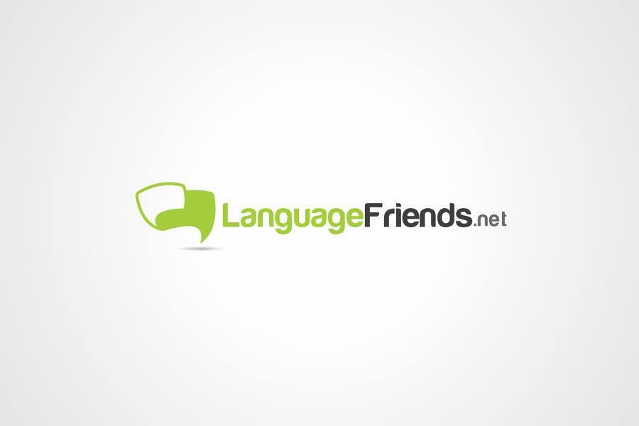 Kilpailutyö #194 kilpailussa Logo Design for An upcoming language exchange partner online portal, www.languagefriends.net
