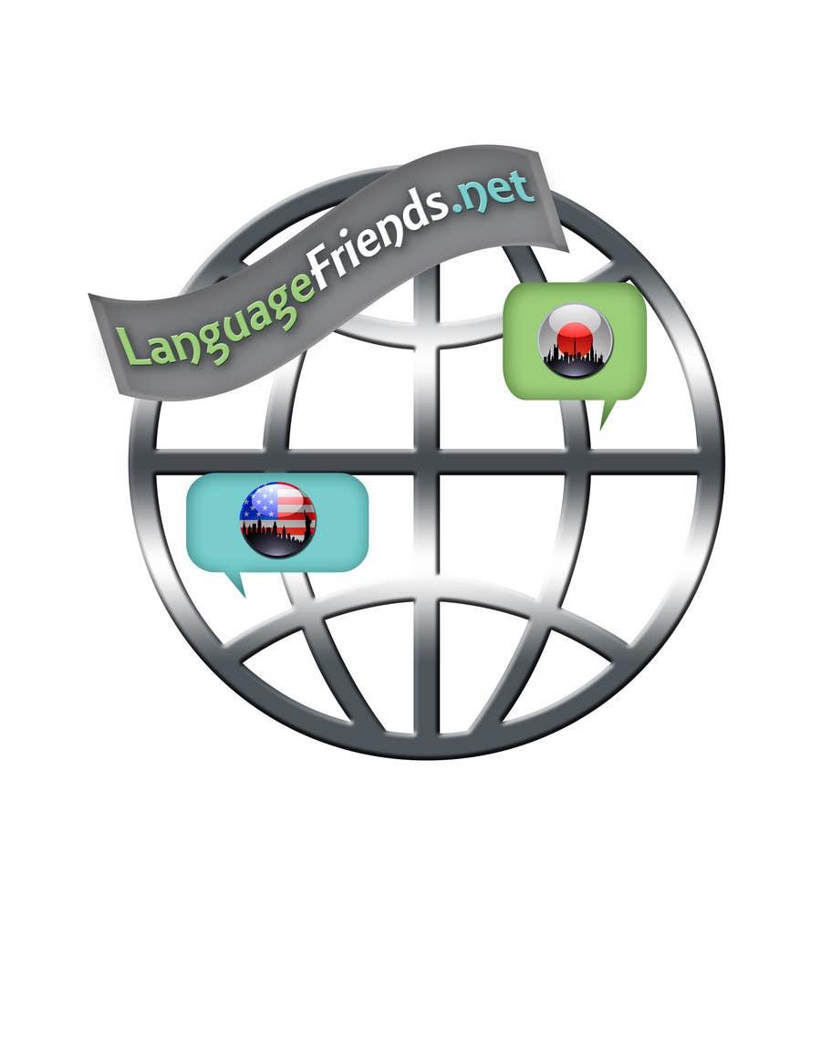Inscrição nº 208 do Concurso para Logo Design for An upcoming language exchange partner online portal, www.languagefriends.net