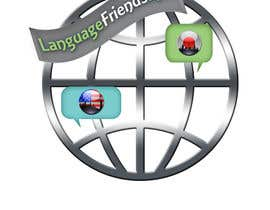 #208 para Logo Design for An upcoming language exchange partner online portal, www.languagefriends.net por loubnady