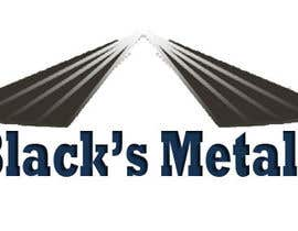 #154 para Design a Logo for Black's Metals por cast07