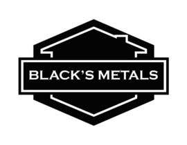 #68 for Design a Logo for Black's Metals by Macxarts