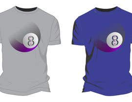 moilyp tarafından Design a T-Shirt that looks like a Magic 8 Ball Answer için no 5