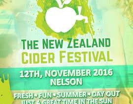 fullericious tarafından New Zealand Cider Festival Banner için no 48