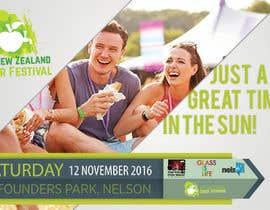 adrizing tarafından New Zealand Cider Festival Banner için no 19