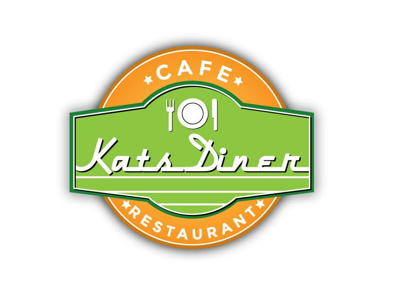 #154 for Design a Logo for an American Style Cafe/Restaurant by zaldslim