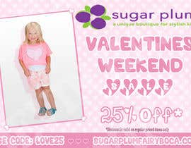 #18 cho I need some Graphic Design for Upscale Kids Clothing Store Valentines Sale bởi ddh1122