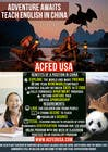 "Entry # 11 for Design a Flyer: ""Adventure Awaits - Teach English in China"" by"