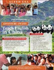 "Contest Entry #33 for Design a Flyer: ""Adventure Awaits - Teach English in China"""