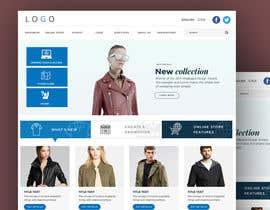 Nro 59 kilpailuun URGENT! Design a responsive website mockup [Top page only] käyttäjältä abhikreationz