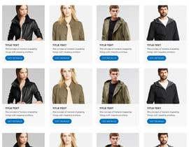 Nro 60 kilpailuun URGENT! Design a responsive website mockup [Top page only] käyttäjältä abhikreationz