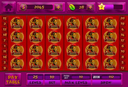 #7 for Design an App Mockup for a Slots App by sharpBD