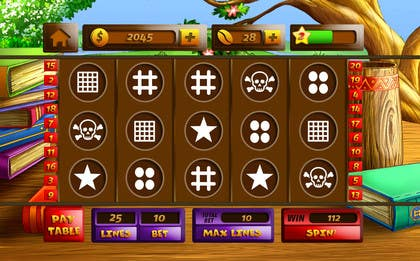 #21 for Design an App Mockup for a Slots App by sharpBD