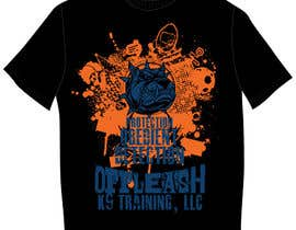 #39 cho Design a T-Shirt for K9 Training Business bởi clementalwin