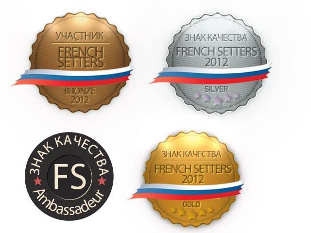 Penyertaan Peraduan #                                        5                                      untuk                                         2 badges to design with small variations