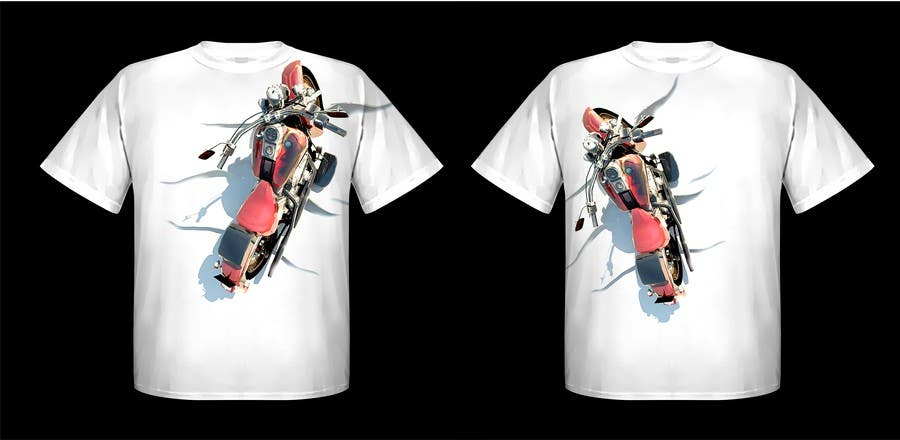 Penyertaan Peraduan #91 untuk AMAZING Tshirt Art Needed for Motorcycle Apparel Company