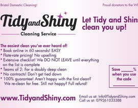 #15 untuk Design a Flyer for Tidy and Shiny (cleaning company) oleh Macxarts