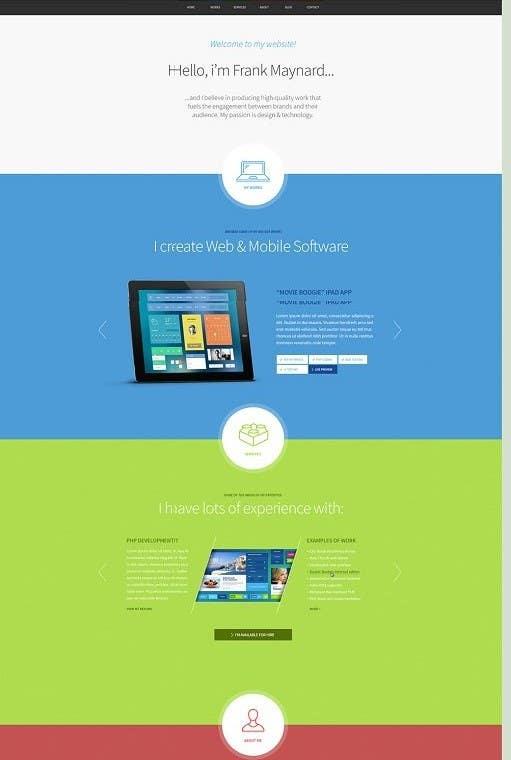 #2 for Designa a website model. by mizanurrahman20