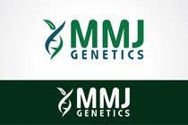 Graphic Design Inscrição do Concurso Nº52 para Graphic Design Logo for MMJ Genetics and mmjgenetics.com