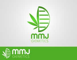 nº 67 pour Graphic Design Logo for MMJ Genetics and mmjgenetics.com par benpics