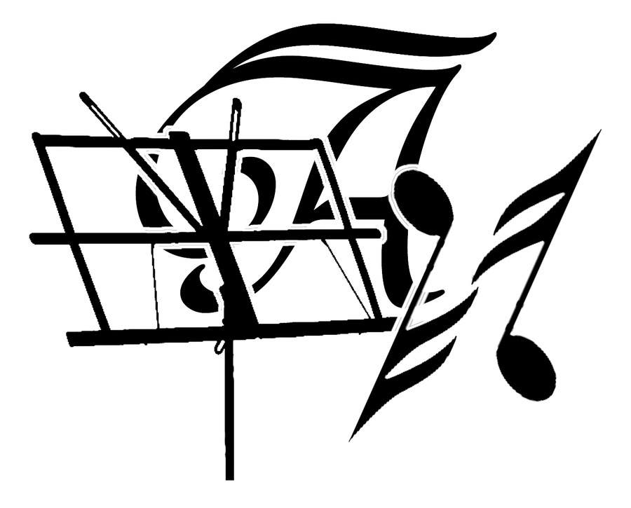 Penyertaan Peraduan #11 untuk Разработка логотипа для дирижера!)))