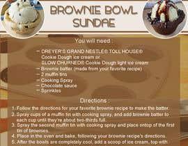 Nro 8 kilpailuun Brownie Bowl Sundaes käyttäjältä Prsakura