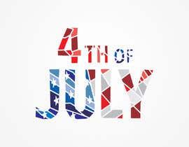 Nro 72 kilpailuun Create July 4th Themed Vector Art käyttäjältä EkVor