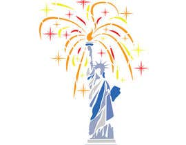 #35 for Create July 4th Themed Vector Art by desavic
