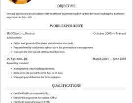 #11 для Make me a new CV / Resume от ElizaCostras