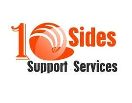 #78 para Design a Logo for (10 Sides Support Services) por hemalibahal