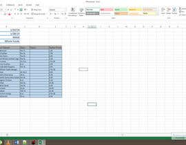 kmgudani tarafından Enter data from store flyers in a spreadsheet için no 5