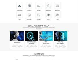 creative223 tarafından Need A Custom Homepage Design (Winner will get the rest of the job) için no 46