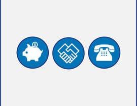 Nro 77 kilpailuun 3 Icons for Charity Website käyttäjältä zouhairgfx