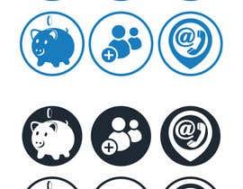 Nro 71 kilpailuun 3 Icons for Charity Website käyttäjältä bd600102