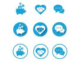 Nro 58 kilpailuun 3 Icons for Charity Website käyttäjältä luutrongtin89