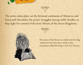 Viklasa tarafından Infographic based on Game of Thrones (Fun and Creative) için no 1