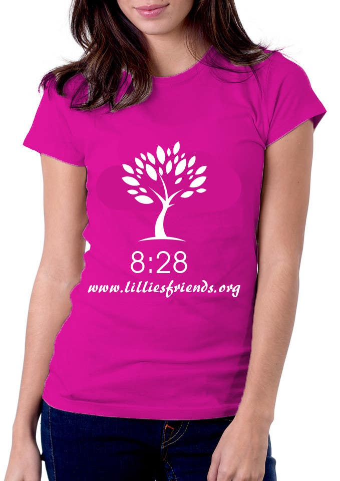 #28 for Lillie's Friends Foundation Adult T-Shirt Design by logodancer