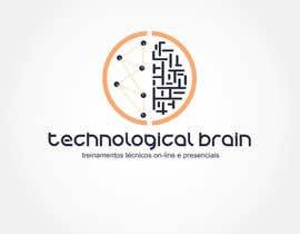 felipeandrew tarafından Projetar Logo da empresa Technological Brain için no 24