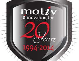 #87 for Design a Logo for 20th Anniversary of Motiv by dirak696