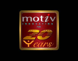 #74 para Design a Logo for 20th Anniversary of Motiv por mahossainalamgir