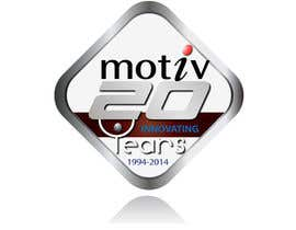#83 para Design a Logo for 20th Anniversary of Motiv por mahossainalamgir