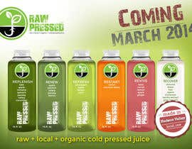 #25 for Design a Flyer for Cold Pressed Juice af tanav