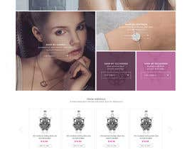 styleworksstudio tarafından Design the fashion jewelry website mockup için no 44