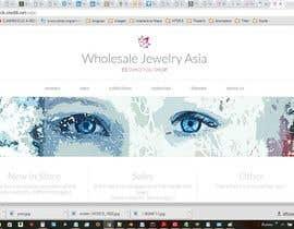 Nro 76 kilpailuun Design the fashion jewelry website mockup käyttäjältä NETWPFExpert