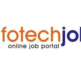 nº 163 pour Logo design for IT Job portal par duttarajesh07