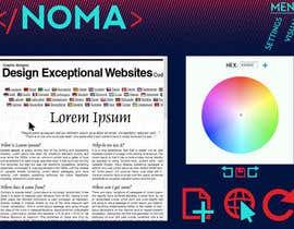 nº 4 pour Design a Website Mockup for NOMA par MaxCara