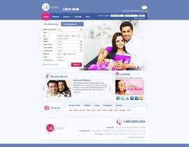 #4 untuk Design a Matrimonial Website like Shaadi.com or Bharatmatrimony.comFor Matrimonial Redefor oleh alpyraj81
