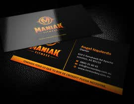 #9 for Design some Business Cards for Maniak Fitness by ezesol