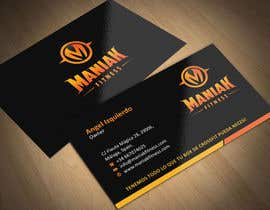 #13 for Design some Business Cards for Maniak Fitness by ezesol