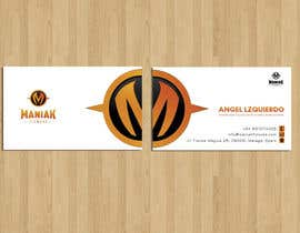 #71 for Design some Business Cards for Maniak Fitness by RERTHUSI