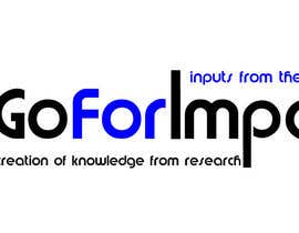 #9 for Design a logo for Go for Impact af sinclairdo